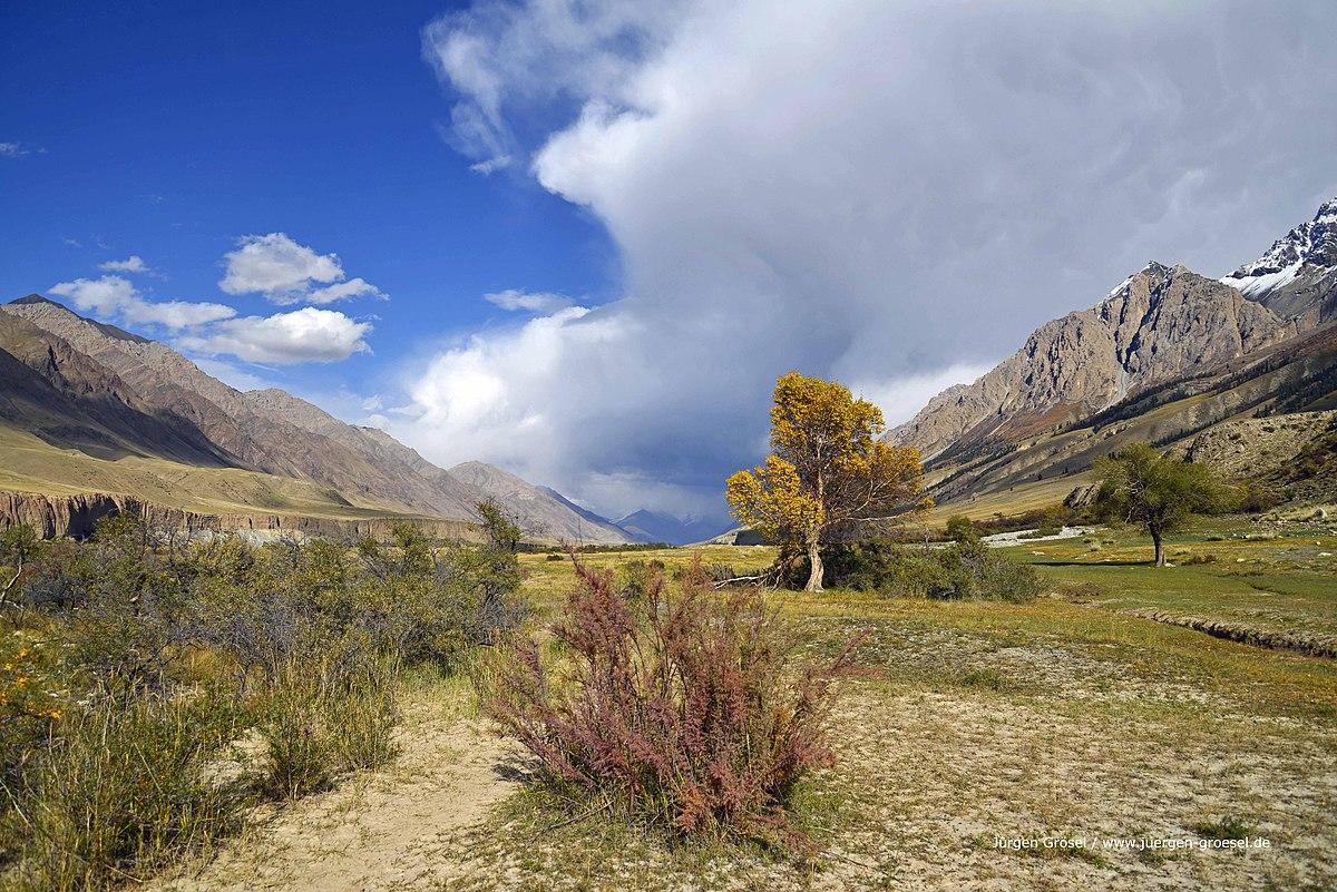 Foto Landschaft Kirgisistan