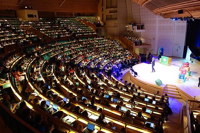 Opening ceremony Wikimania 2019 Stockholm, Foto: Vysotsky (Wikimedia) [CC BY-SA 4.0]
