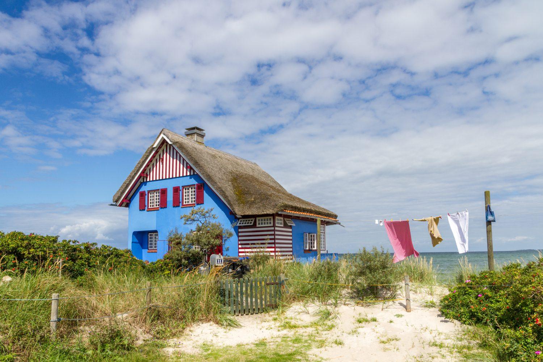 Haus auf dem Graswarder